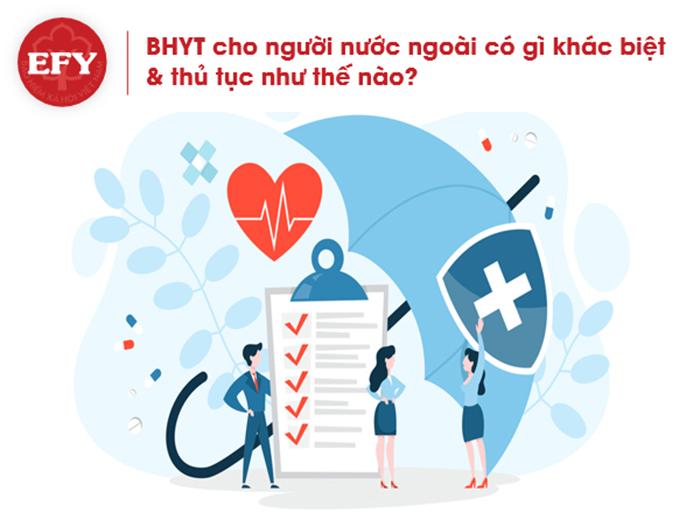 Thủ tục đóng bảo hiểm y tế cho người nước ngoài