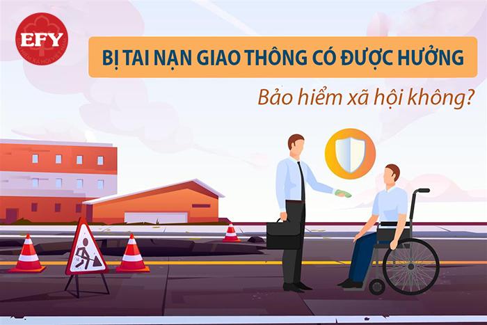 Bị tai nạn giao thông có được hưởng bảo hiểm xã hội không