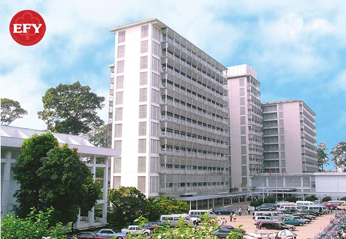 các bệnh viện thuộc tuyến trung ương