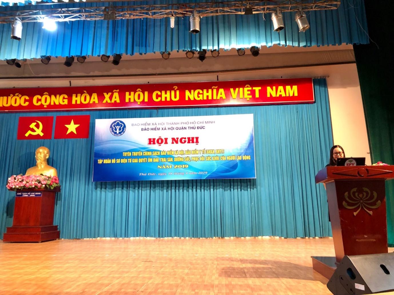 Tập huấn hồ sơ điện tử giải quyết ốm đau, thai sản, DSPHSK tại TP Hồ Chí Minh- ảnh 1