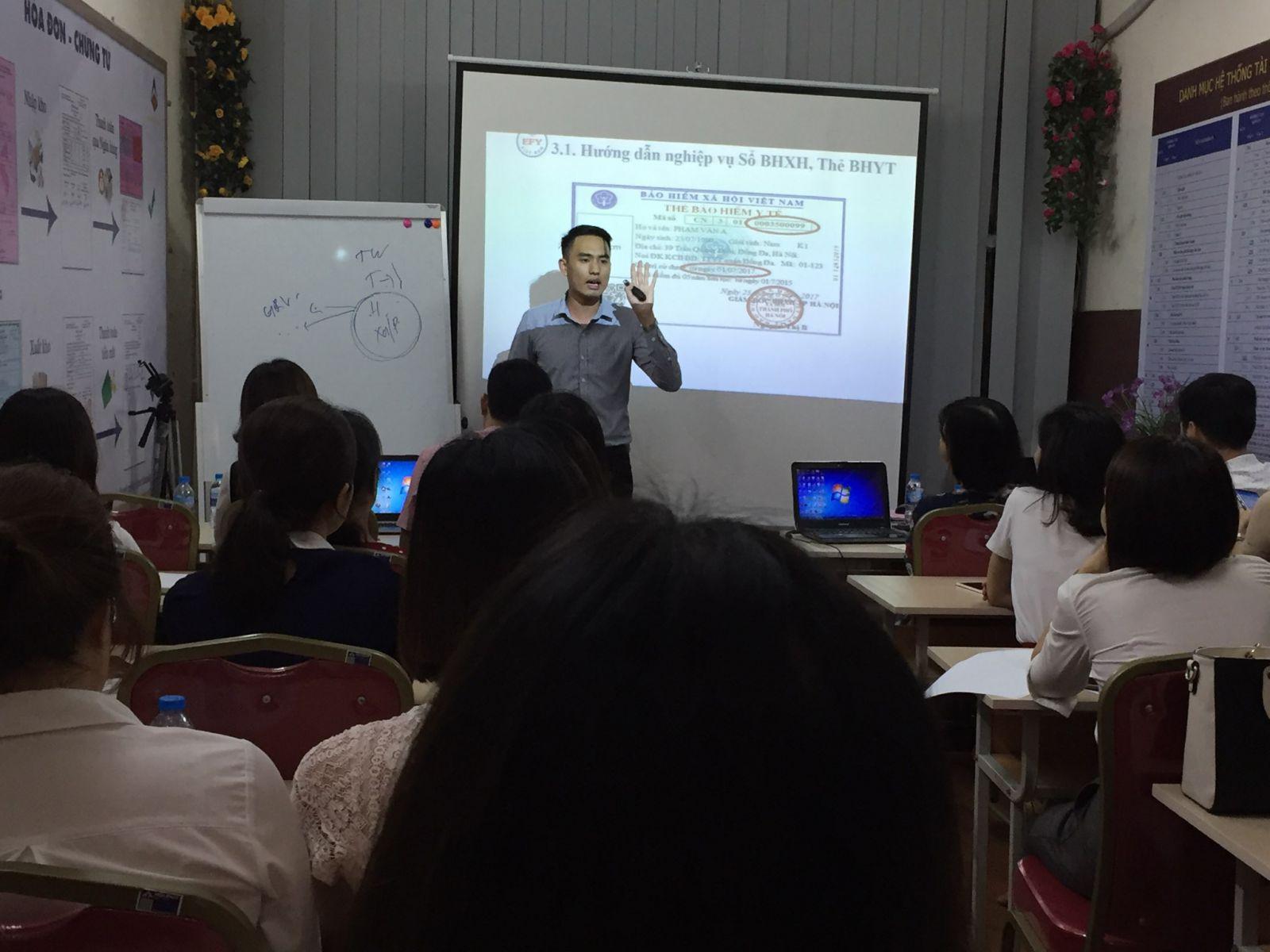 EFY Việt Nam tập huấn cho giảng viên Trung tâm kế toán Hà Nội- ảnh 2