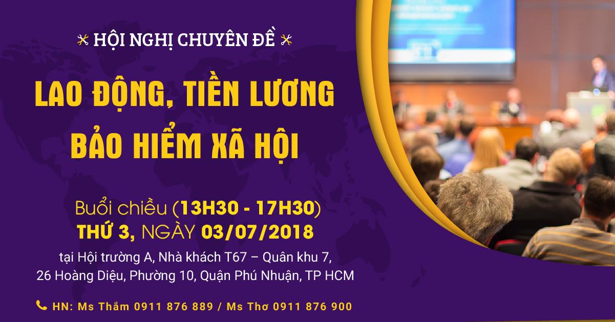 Hội nghị tập huấn BHXH tại TPHCM
